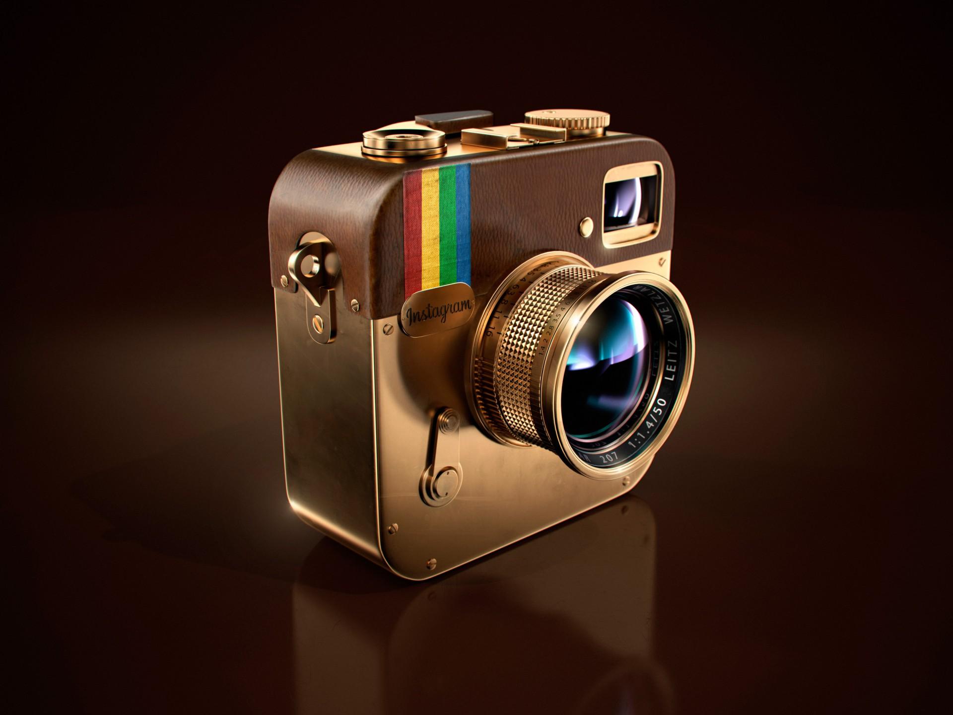 POP. Instagram The Icon / #Concept #CGI
