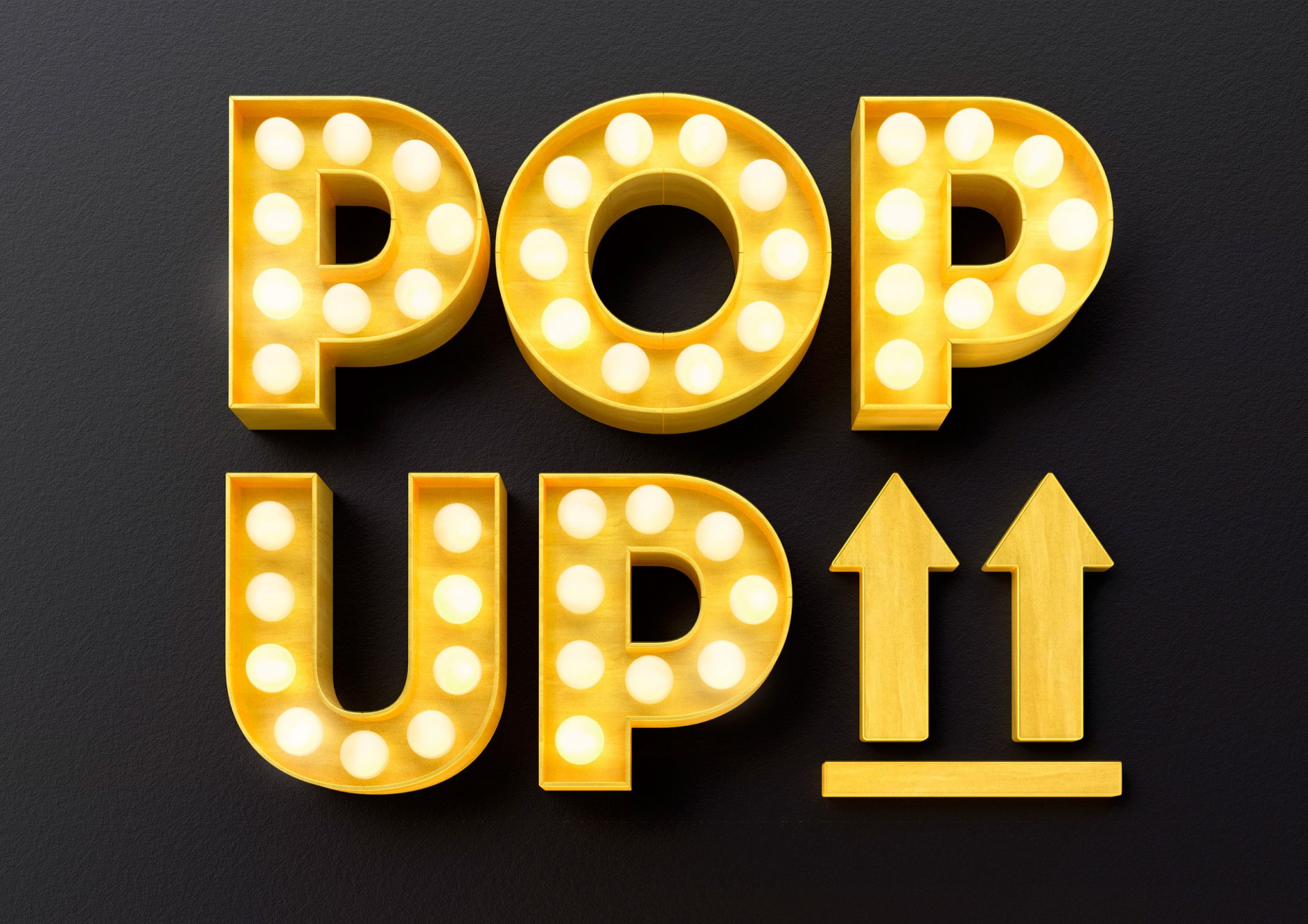 POP. POP. Up Coffee / #Concept #CGI #Post