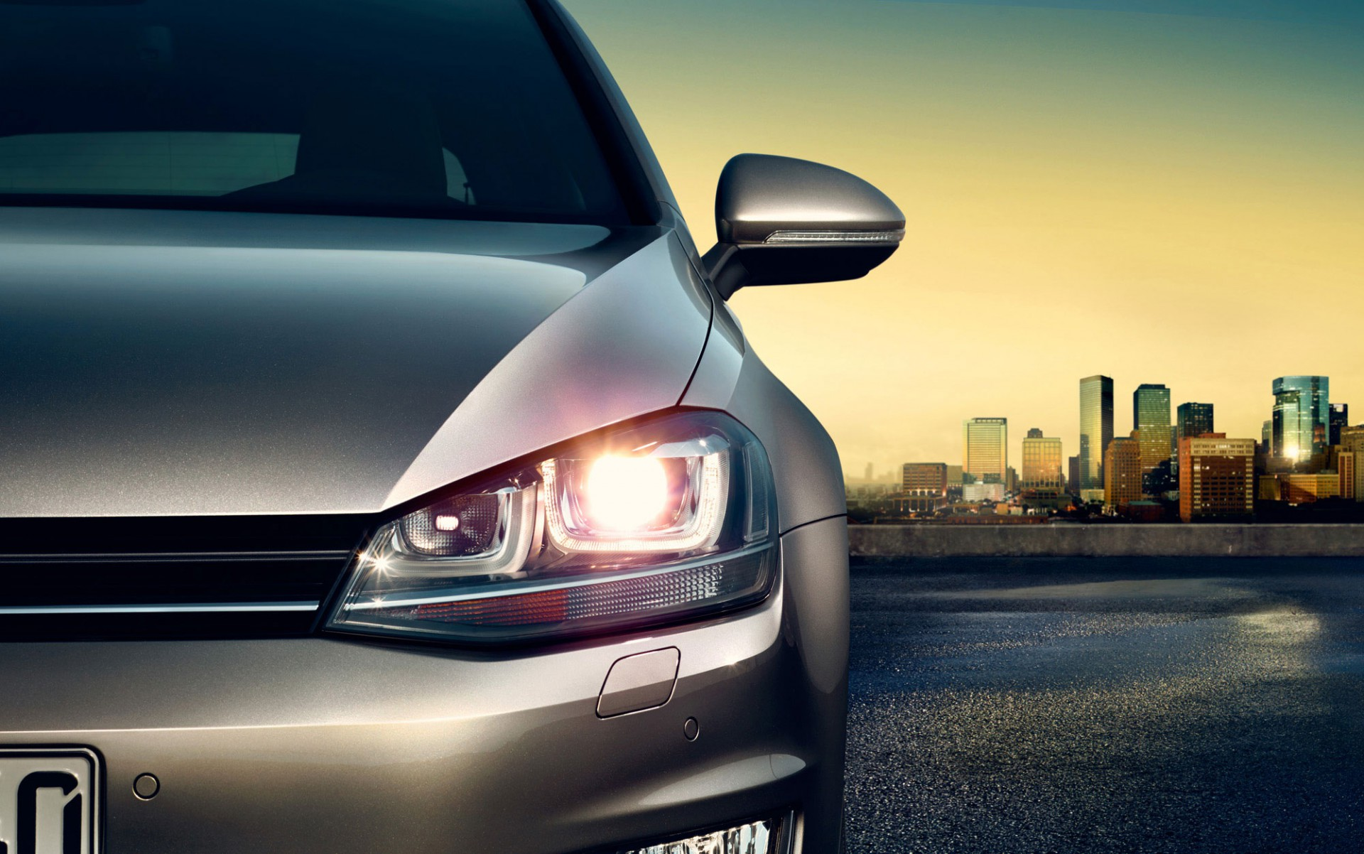 POP. VW Golf Edition 40  / #Post